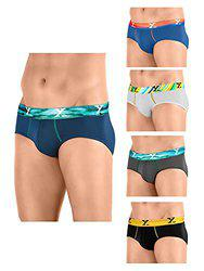 XYXX Men's Micro Modal Brief (Pack of 5)