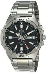 Casio Enticer Analog Black Dial Men's Watch-MTP-E203D-1AVDF (A1373)