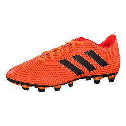 Adidas Men's Zest/Cblack/Solred Football Boots - 10 UK/India (44.66 EU)(DA9594)