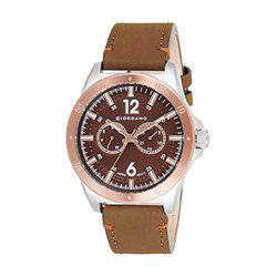 Giordano Analog Brown Dial Men's Watch-1970-04