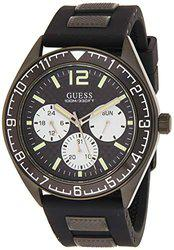 Guess Mens Black Dial Watch-W1167G2
