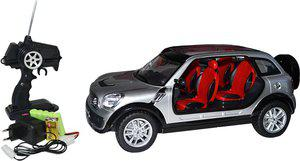 Majorette Remote Control Bmw Mini Rtr - 1:12(Grey)