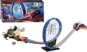 Majorette Spiderman Loop 'N Launch Track Set(Multicolor)
