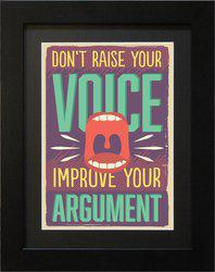 Tantra Argument Canvas Painting(12.7 inch x 10.1 inch)