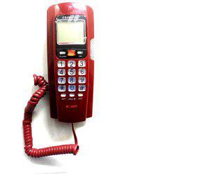 Siddh Present Orientel Jumbo LCD Caller ID KX-T1555 Corded Landline Phone(Black)