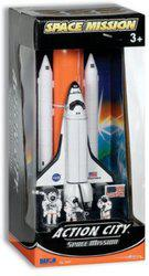 Action City Space Mission Shuttle Full Stack(White)