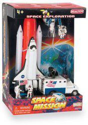 Action City Space Mission 7 Piece Set(Multicolor)