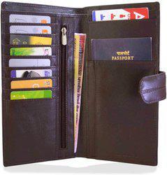 Arpera Travel Leather Passport Case Brown C11546-2(Brown)