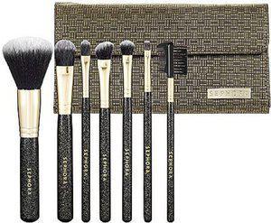 Sephora Deluxe Antibacterial Brush Set(Pack of 7)