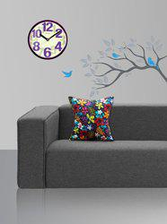 Style Homez Floral Cushions Cover(Pack of 2, 45 cm*45 cm, Multicolor)