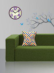 Style Homez Polka Cushions Cover(Pack of 2, 45 cm*45 cm, Multicolor)