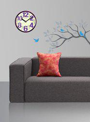 Style Homez Abstract Cushions Cover(Pack of 2, 45 cm*45 cm, Multicolor)