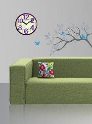 Style Homez Floral Cushions Cover(30 cm*30 cm, Multicolor)