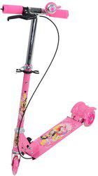Aabana Brake and Bell Scooter for Kids(Pink)