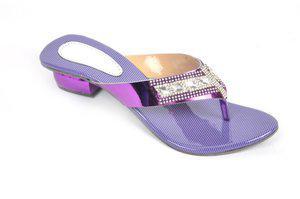 Fashbeat Women Purple Heels