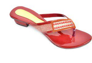 Fashbeat Women Maroon Heels