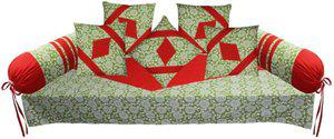 Adt Saral Cotton Abstract Diwan Set
