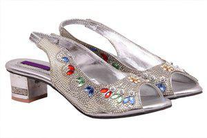 Fashbeat Women Silver Heels