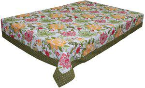 Adt Saral Printed 6 Seater Table Cover(Multicolor, Cotton)