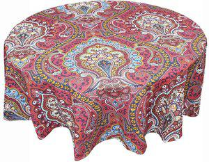 Adt Saral Printed 4 Seater Table Cover(Multicolor, Cotton)