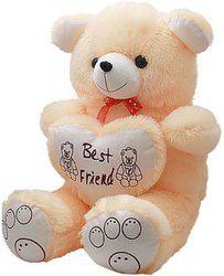 Rudraksh Enterprises Teddy Bear 5 Feet Jumbo Size Cream  - 152 cm(Multicolor)