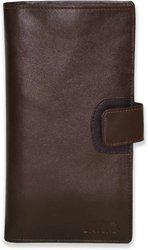 Arpera genuine leather passport holder for 2 passports Brown C11568-2(Brown)