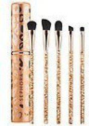 Sephora Collection Glimmer In Her Eye - Eye Brush Set-$64 Value(Pack of 5)