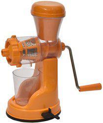 Capital Kitchenware Fruit & Vegetable Manual Juicer Plastic Hand Juicer(Orange Pack of 1)