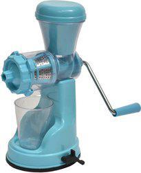 Capital Kitchenware Fruit & Vegetable Manual Juicer Plastic Hand Juicer(Blue Pack of 1)