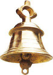 Brass Gift Center Brass Pooja Bell(Yellow, Pack of 1)