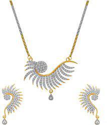 aabhu Alloy Jewel Set(Gold)