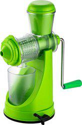 Cierie Plastic Hand Juicer(Green Pack of 1)