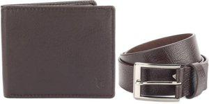Louis Philippe Belt, Wallet Combo(Brown)