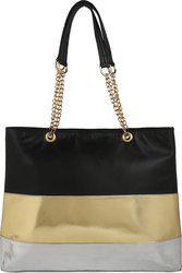 Berrypeckers Shoulder Bag(Black, Gold)
