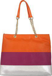 Berrypeckers Shoulder Bag(Orange, Purple)