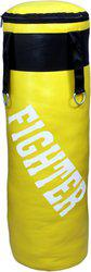 Fighter yellow punching bag unfilled Boxing Kit