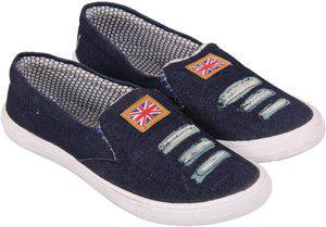 FASHBEAT Canvas Shoes For Women(Blue)