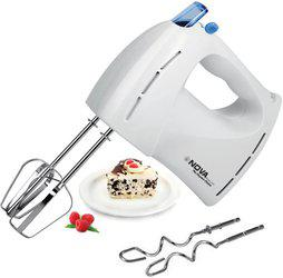 Nova NHM-2109 7 Speed 150 w 150 W Hand Blender(White)