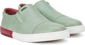 Woodland Slip on Sneakers For Men(Grey)