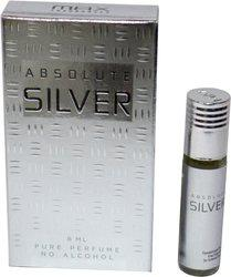 Max ABSOLUTE SILVER Perfect pocket Perfume  -  8 ml(For Men & Women)
