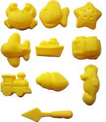 BestUBuy Clay Modelling Mould - 10 Nos