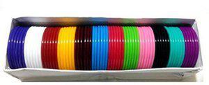 BestUBuy Silk Thread jewellery making bangle 6 cut 2.6 size - 72 Banbles