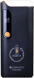 Zebronics 10000 mAh Power Bank (ZEB-MC10000LD, Mobile Battery Charger)(Black, Lithium-ion)