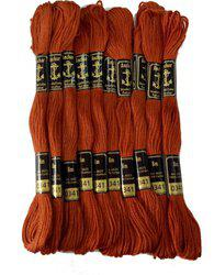 Anchor Brown Thread(8 Pack of10)