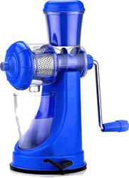 Cierie Fruits And Vegetable Plastic Hand Juicer(Blue Pack of 1)
