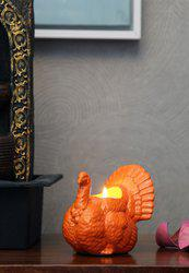Orange Ceramic Showpiece
