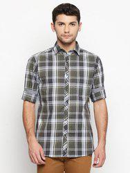 Solemio Cotton Lycra Shirt For Mens