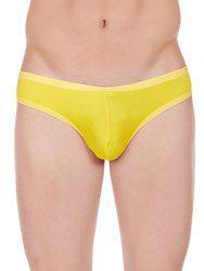 La Intimo Men Yellow Briefs LIMB004YW0