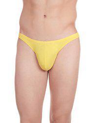 La Intimo Men Yellow Thongs LITH021YW0