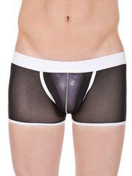 La Intimo Men Black Trunks LIBO002BK0